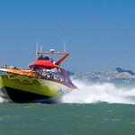 RocketBoat on the San Francisco Bay.